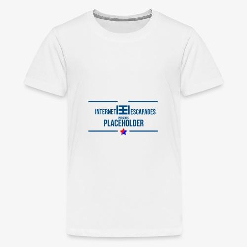 Placeholder - Premium T-skjorte for tenåringer