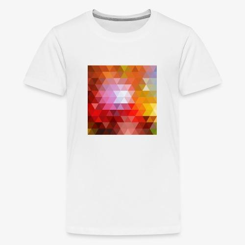 TRIFACE motif - T-shirt Premium Ado