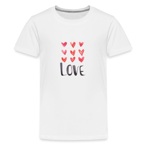 9xlove - T-shirt Premium Ado