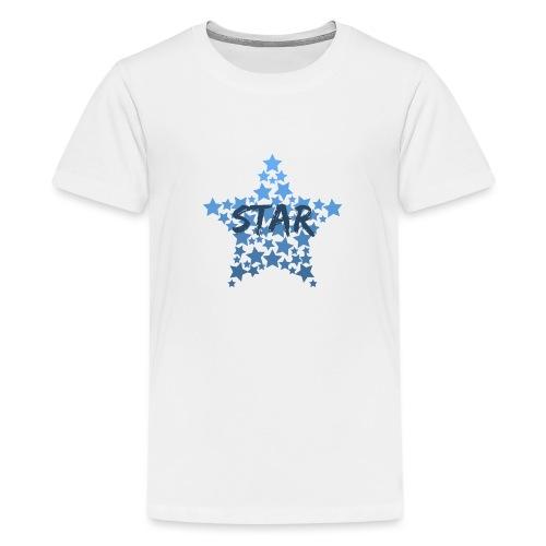Blue star - Teenage Premium T-Shirt