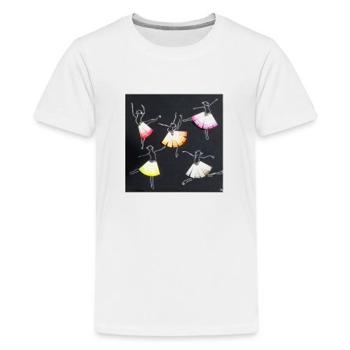 Historica ballerina s jpg - Teenager Premium T-shirt