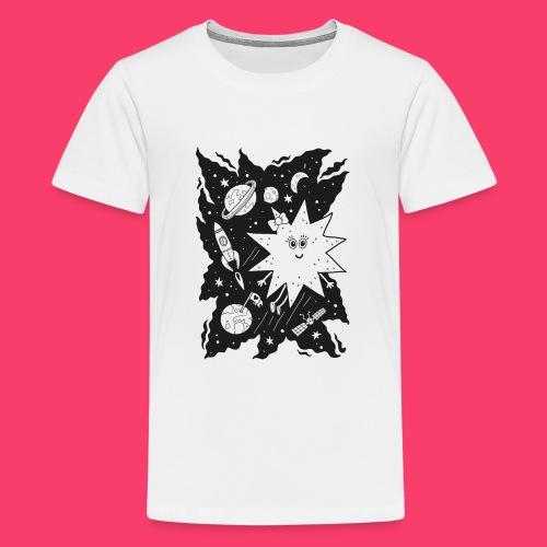 Stella Stern zum Ausmalen - Teenager Premium T-Shirt