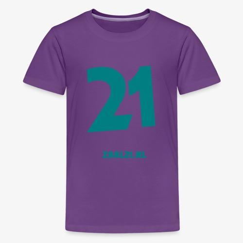 zaal-achterkant - Teenager Premium T-shirt
