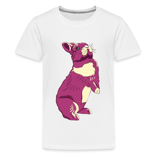 Kaninchen Hasen Häschen Bunny Zwergkaninchen - Teenager Premium T-Shirt