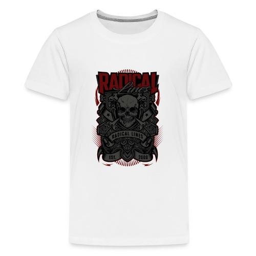 sssssssssss png - Premium-T-shirt tonåring