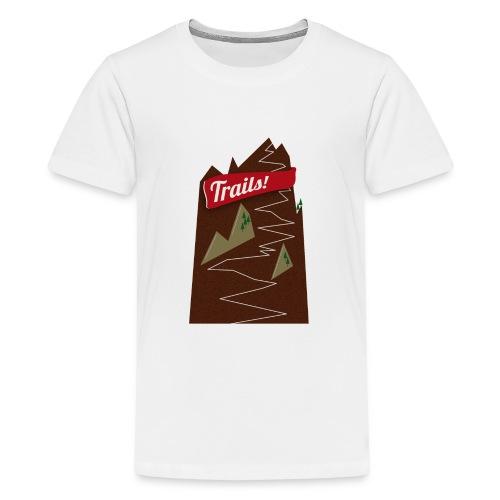 Trails • Trail • Singletrail - Teenager Premium T-Shirt