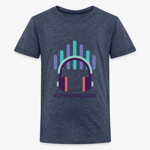 kopfhörerliebe - Teenager Premium T-Shirt