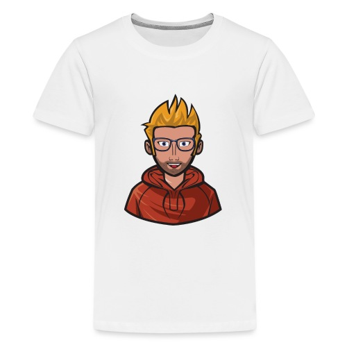 PatrecCOfficial Loga/emot - Premium-T-shirt tonåring