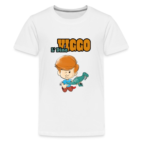 LDinoViggo Logo total - Teenager premium T-shirt