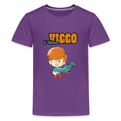 LDinoViggo Logo total - Teenager premium T-shirt