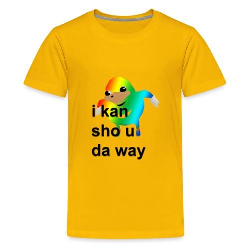 uganda - Teinien premium t-paita