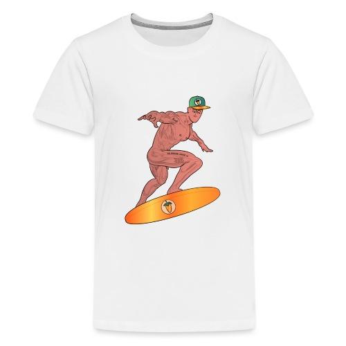 Spacesurfer - Teenager Premium T-Shirt