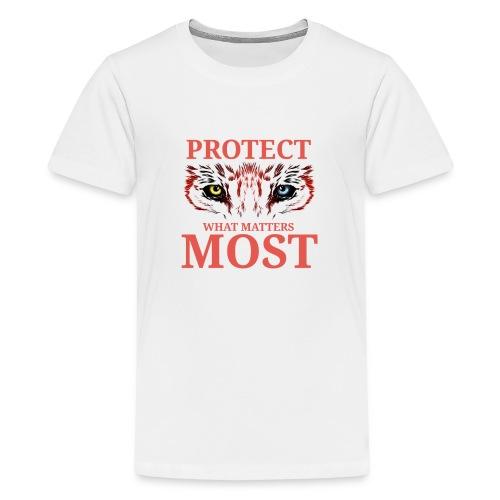 T.Finnikin Designs - Protect - Teenage Premium T-Shirt