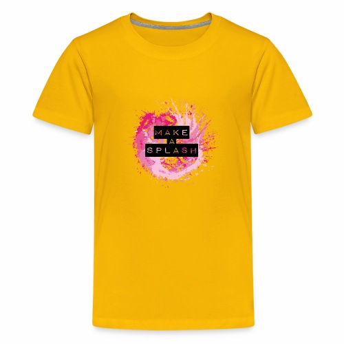 Make a Splash - Aquarell Design - Teenager Premium T-Shirt