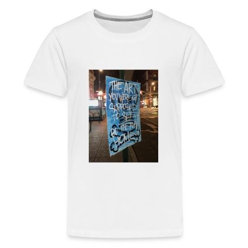 POLO K_T_M LA_FAMIGLIA X iorestoacasaArtistiUniti - Maglietta Premium per ragazzi