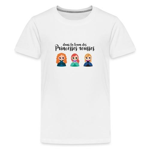 Team princesses rousses - T-shirt Premium Ado