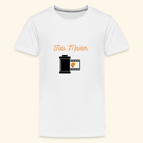 Foto Master 2nd - Teenager premium T-shirt