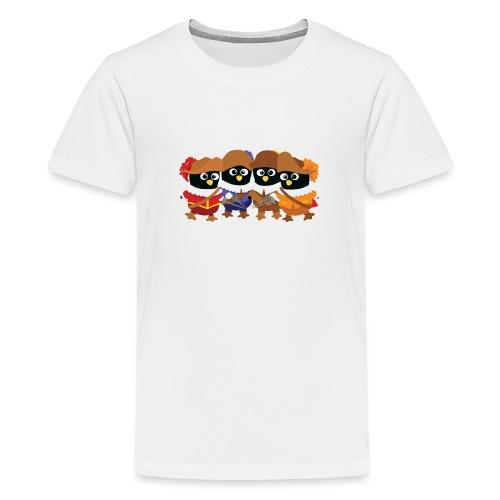 Pingouins mousquetaires - T-shirt Premium Ado