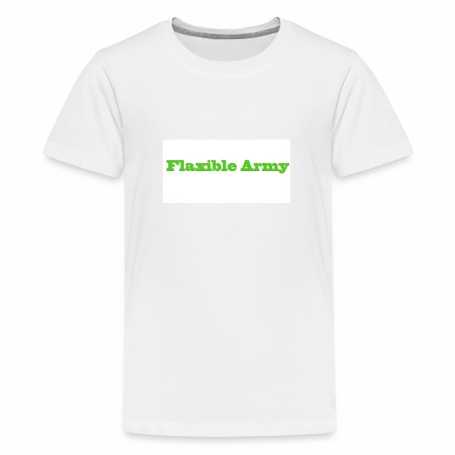 ,,Flaxible Army'' Kollektion - Teenager Premium T-Shirt