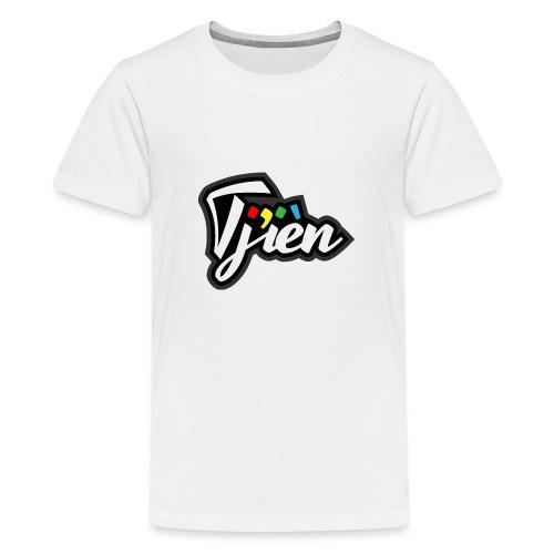 Tjien Logo Design - Teenager Premium T-shirt