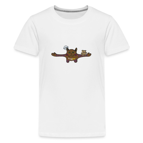 Hug me Monsters - Every little monster needs a hug - Teenage Premium T-Shirt