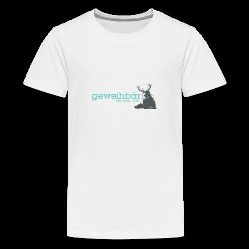 geweihbär colored - Teenager Premium T-Shirt