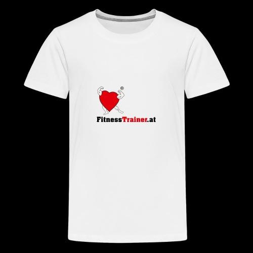 FitnessTrainer.at - Teenager Premium T-Shirt