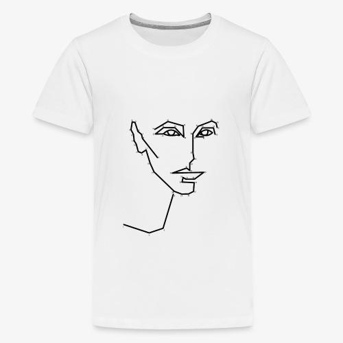 Malen nach Zahlen - Teenager Premium T-Shirt