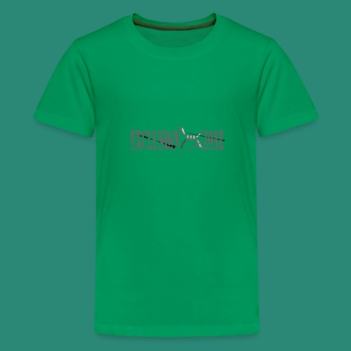 EXCLUSION ZONE - Teenager Premium T-Shirt