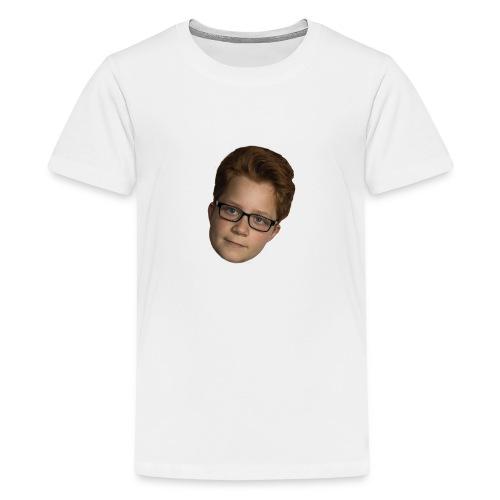 Stachs hoofd - Teenager Premium T-shirt