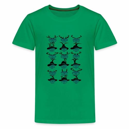 Trachtenrockabilly - Teenager Premium T-Shirt