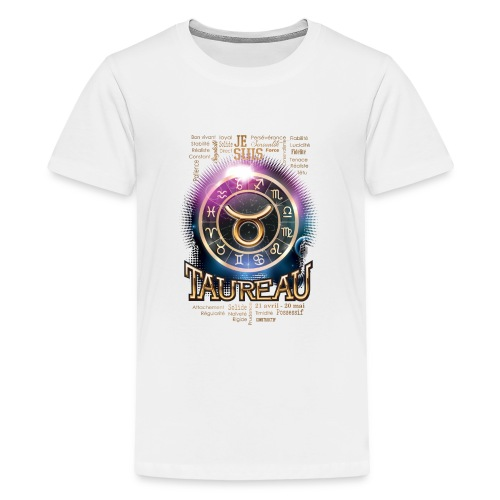 TAUREAU - T-shirt Premium Ado