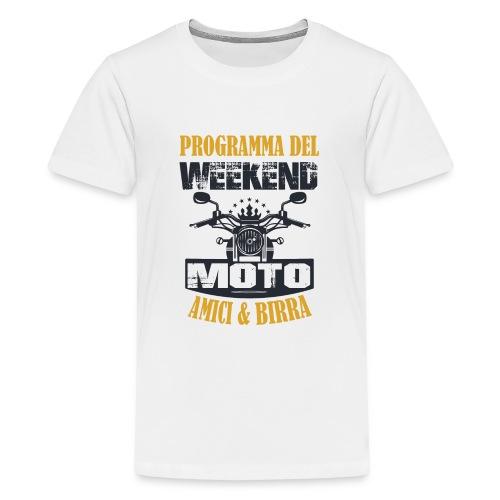 MOTO WEEKEND - Maglietta Premium per ragazzi