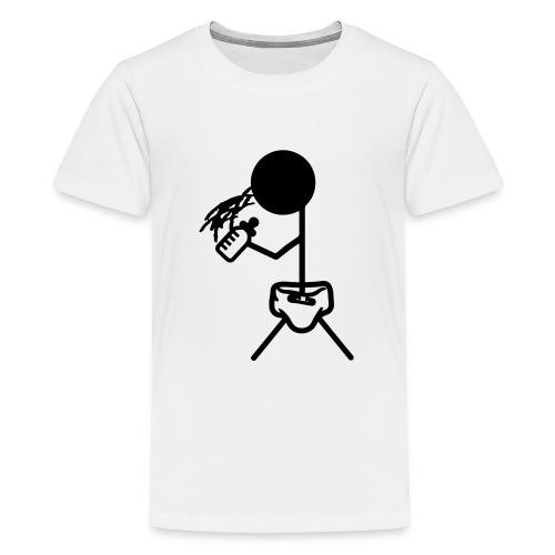 Strichmännchen_Baby - Teenager Premium T-Shirt