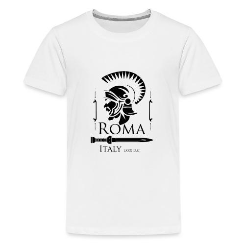 Legionario Romano con Elmetto - Maglietta Premium per ragazzi