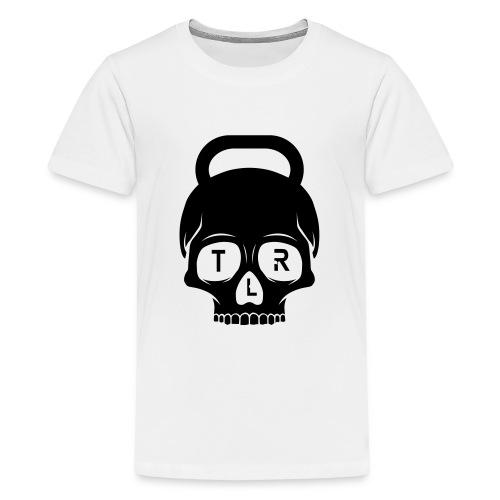 TLR Skull 2 red T-shirt - Premium-T-shirt tonåring