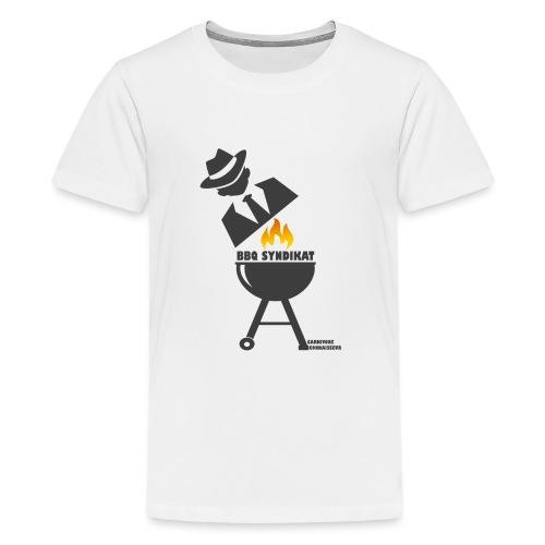 BBQ Syndikat - Mafia Grillshirt - Teenager Premium T-Shirt