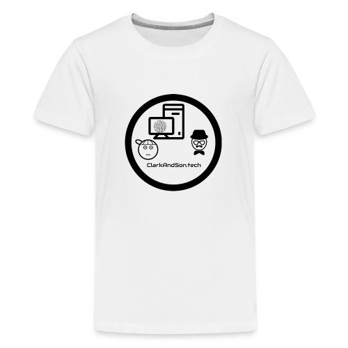 ClarkAndSon - Teenage Premium T-Shirt