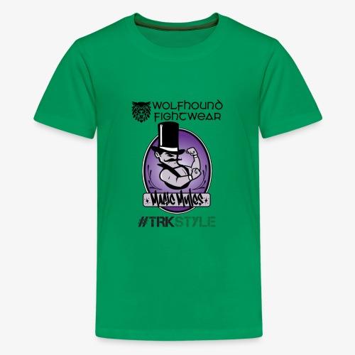 myles front 0518 - Teenage Premium T-Shirt