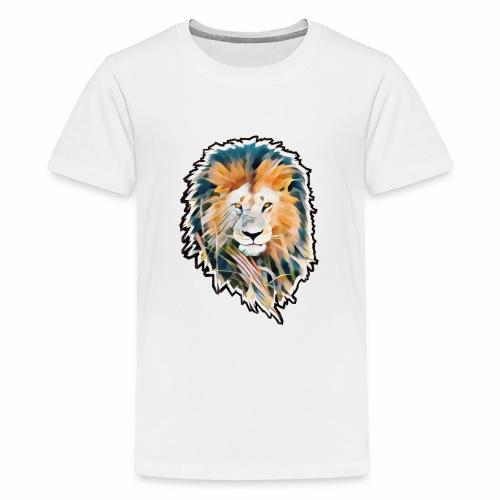 LEON Melena NEGRA CUT 2000 MARJEN NEGRO - Camiseta premium adolescente