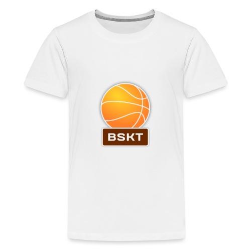 Basket - Camiseta premium adolescente