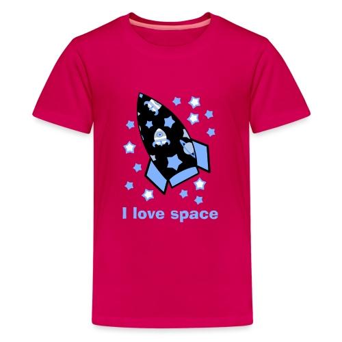 I love space - Maglietta Premium per ragazzi