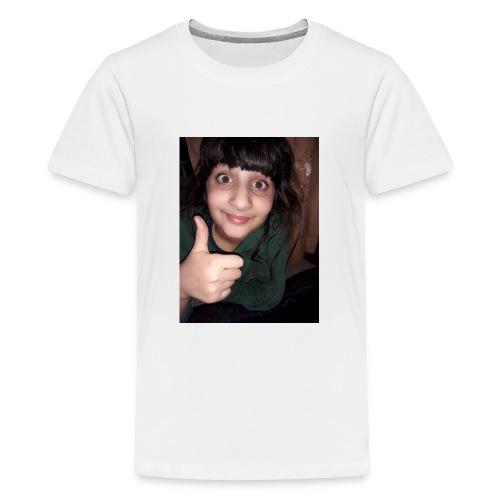 My sis face :-) - Teenage Premium T-Shirt