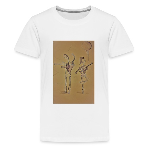 Ballo - sepia - Maglietta Premium per ragazzi