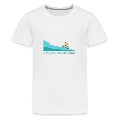 cycling (4) - Teenager Premium T-Shirt