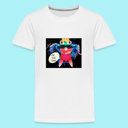 I 'm the king - T-shirt Premium Ado