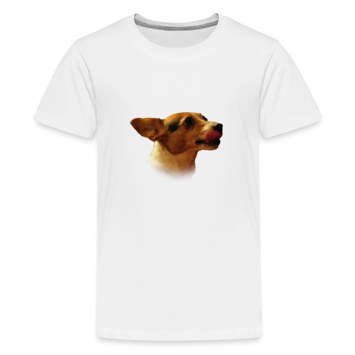 Peace | The Jack Russell - Teenage Premium T-Shirt