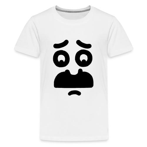 Helmi the Face – Nr. 10 - Teenage Premium T-Shirt