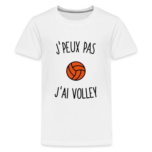 J'peux pas j'ai volley - T-shirt Premium Ado