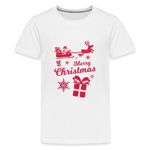 merry_christmas_3 - T-shirt Premium Ado